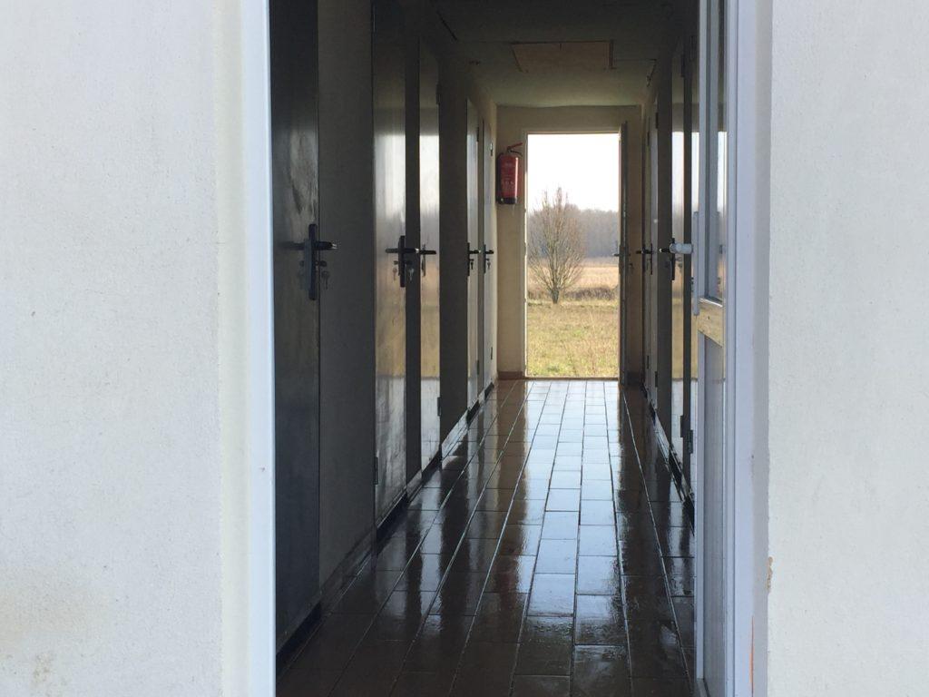 Pension canine - Intérieur du bâtiment